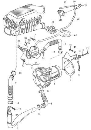 VWVortex  Secondary Air Pump Removal