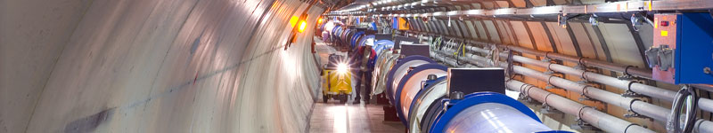 Part of the Large Hadron Collider