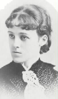 Edith Wharton as a young woman