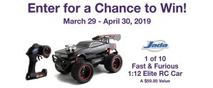MOMC Fast & Furious RC Sweepstakes