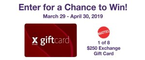 MOMC Mattel Gift Card Sweepstakes
