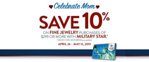 MILITARY STAR Mother's Day Jewelry
