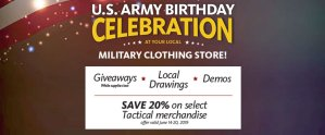 MCS/Troop Store Army Birthday Event