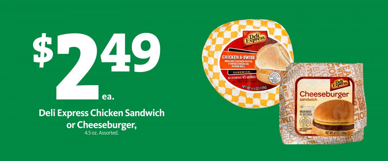 Express - Deli Express Sandwich $2.49