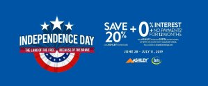 Military Star - 4th of July Furniture Deal
