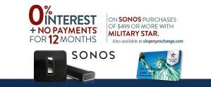 Sonos 0% Finance Deal