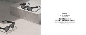 New Bose Frames Audio Sunglasses
