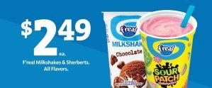 Express - F'real Shakes $2.49