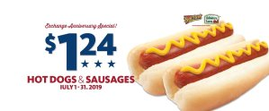 Express - Ball Park Hot Dogs and Hillshire Smoked Sausage $1.24