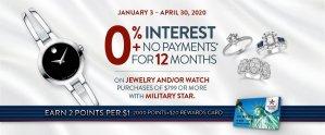 Fine Jewelry 0% Financing Offer
