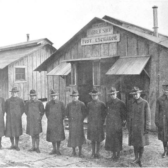 historic photo of soldiers