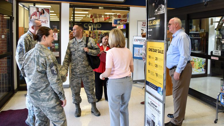 Goodfellow AFB News: Exchange senior enlisted advisor visits Goodfellow