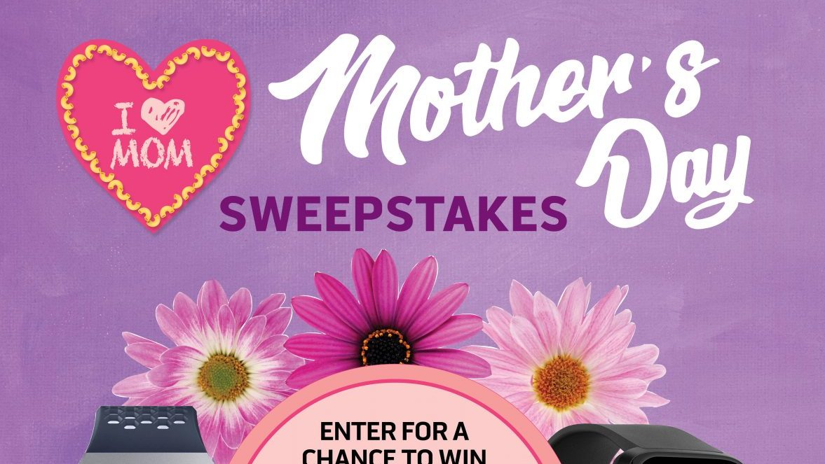Mother's Day Fitbit Sweepstakes