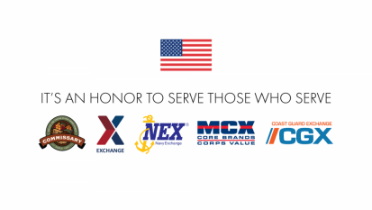 military resale logos