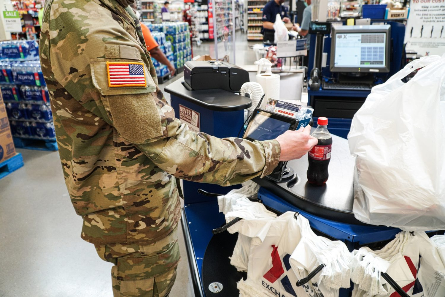 Anyone can buy gift cards for the Troops