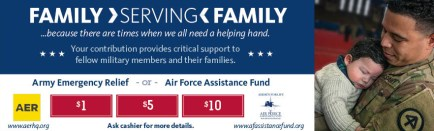 AER and AFAF year-round giving