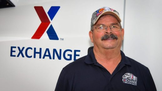 Exchange Driver Bruce Cameron, 2020 National Private Truck Council All-Star