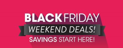 Earn coupons at the Exchange on Black Friday