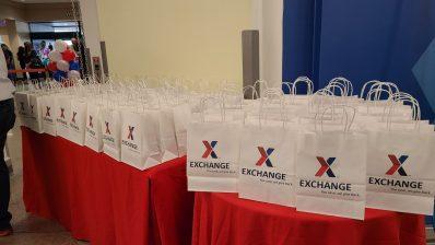 Luke Exchange grand reopening gift bags