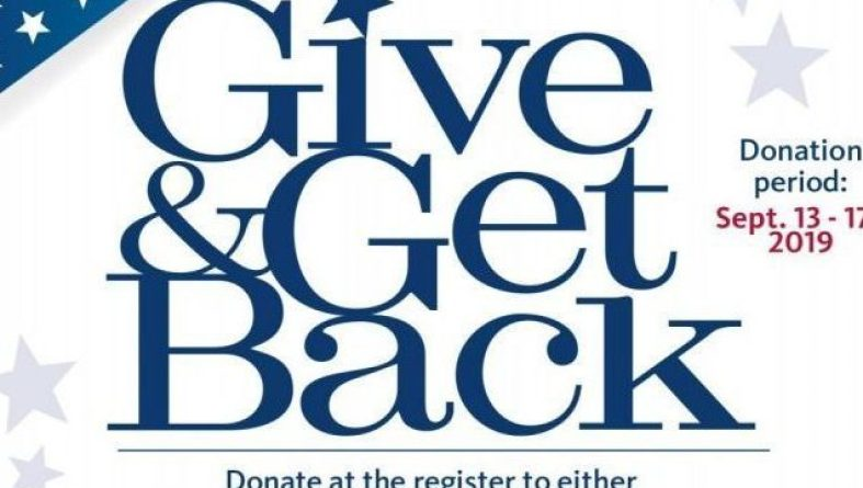 Give and Get Back SEPT