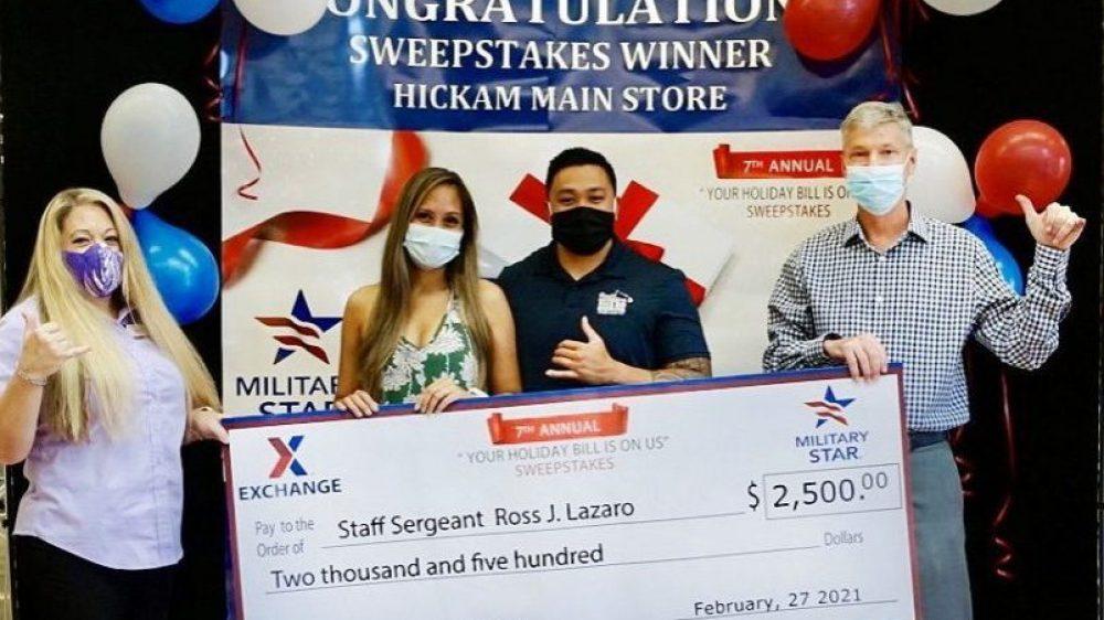 Hickam Holiday Bill Winner