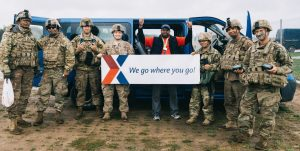 The Exchange supported Anakonda 16 in Poland. Photo by Jessy Macabeo, Exchange merchandise clerk.