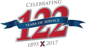 122nd logo