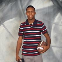Ozias Wright, son of Terri Wright, won a $3,000 scholarship.