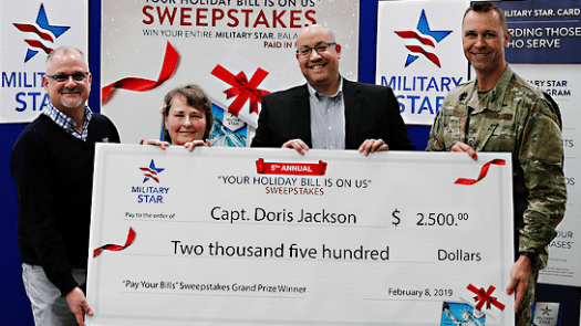 Retired Captain Has Holiday Bill Paid Off at Nellis AFB ...