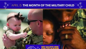 Month of Military Child poster