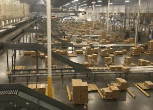 The technology at the Dan Daniel Distribution Center