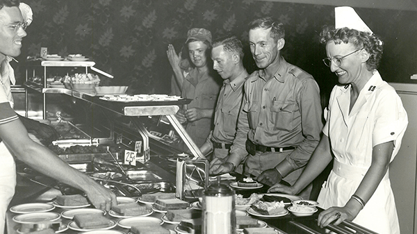 Patrick AFB cafeteria, grand opening, 1951