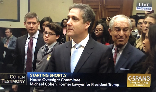 Michael Cohen Former Lawyer for President Donald Trump Testifies Live on C-SPAN