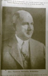 El rostro de Arosemena durante su presidencia