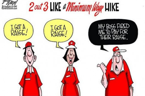 Harvard `Shock` Study: Each $1 Minimum Wage Hike Causes 4-10%...
