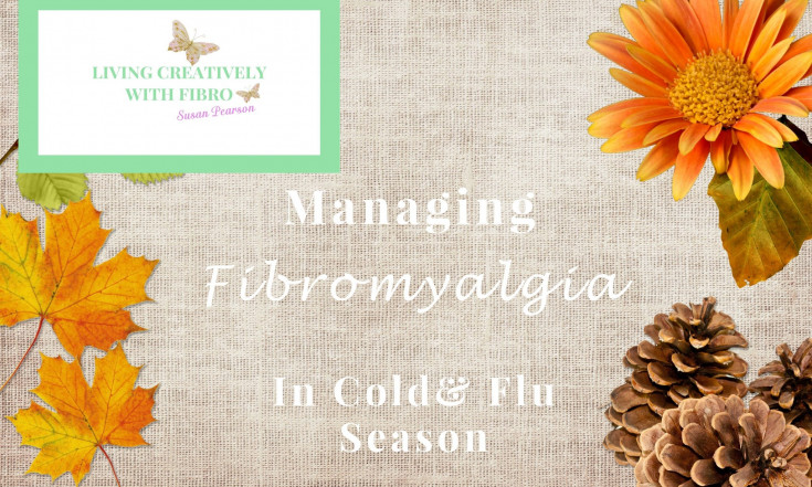 Fibro and a Cold battle it out - Living Creatively with Fibro