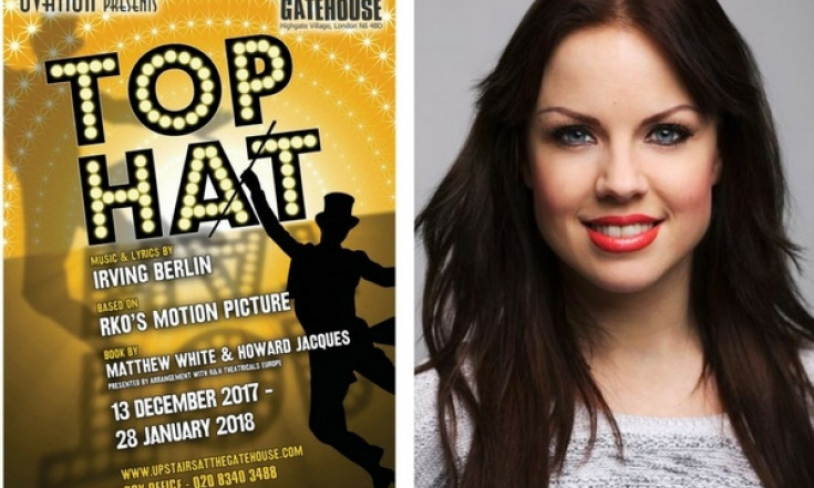 Joanne Clifton follows Flashdance with Top Hat`s fringe premiere