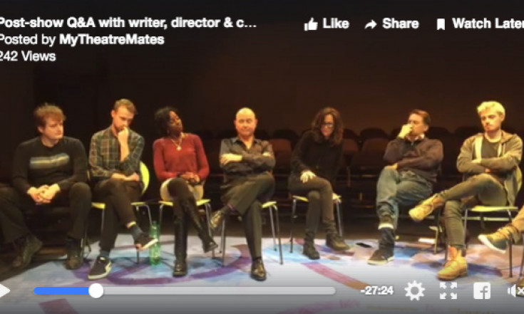Post-show Q&A video: How has The Secondary Victim captured the blame-culture zeitgeist?