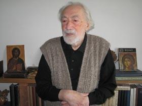 """Paul Gherasim, pictor, membru al grupului """"Prolog"""", elev al maeştrilor Alexandru Steriadi şi Nicolae Dărăscu. Prima expoziţie personală a avut loc în 1965, la Galeria Galateea"""