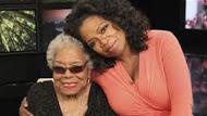 Maya and Oprah Winfrey