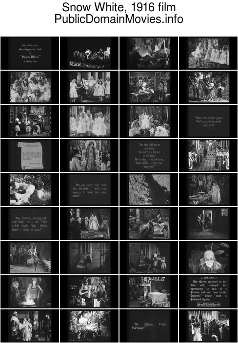 Snow White, 1916 film