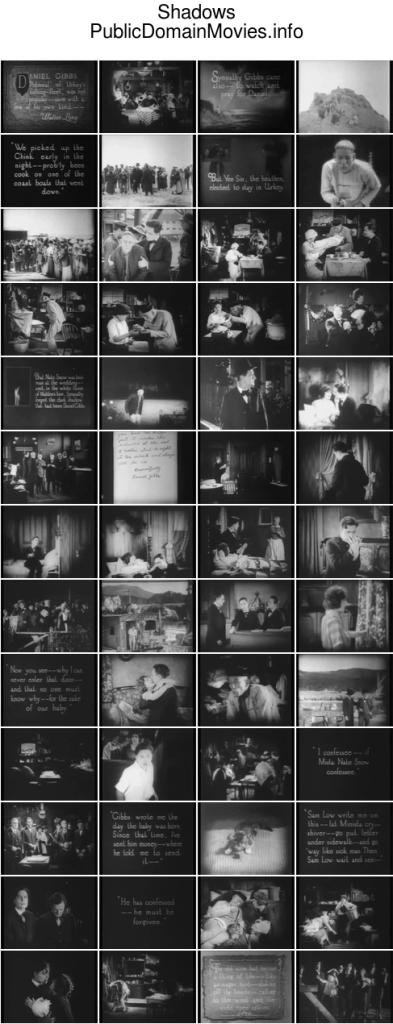 Shadows (1922 film), starring Lon Chaney