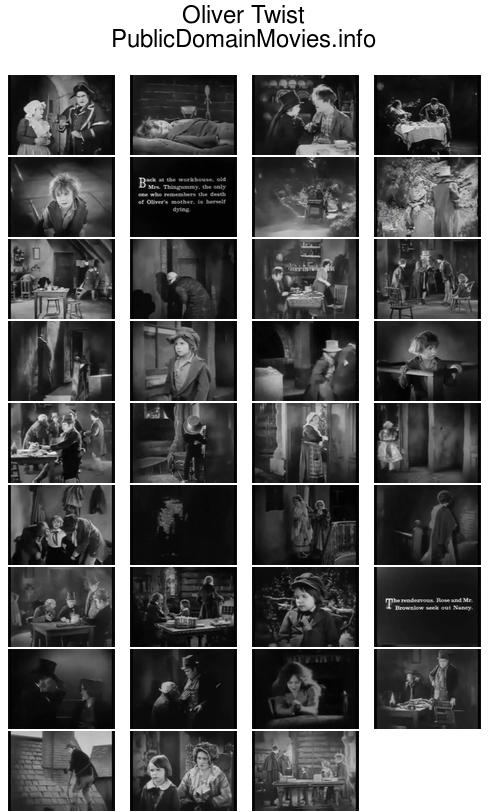 Oliver Twist (1922 film), featuring Lon Chaney