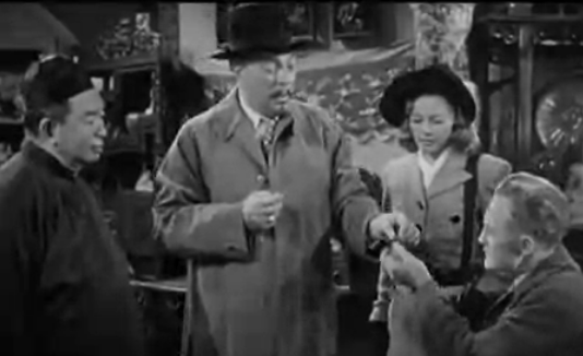 Charlie Chan in the Golden Eye, 1948