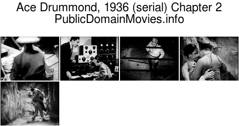 Ace Drummond, 1936 (serial) Chapter 2: The Invisible Enemy