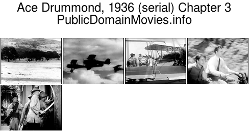 Ace Drummond, 1936 (serial) Chapter 3: The Doorway of Doom