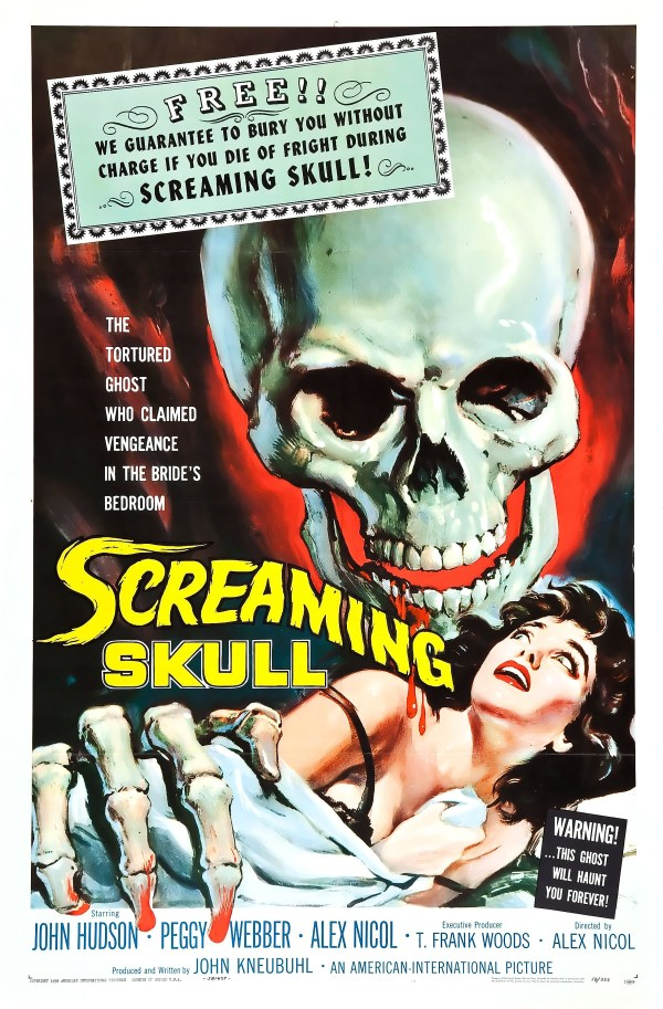 The Screaming Skull, 1958