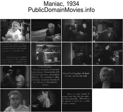 Maniac (1934 film)