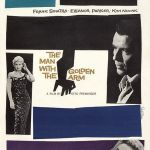 The Man with the Golden Arm, 1955 directed by Otto Preminger and starring Frank Sinatra and Kim Novak