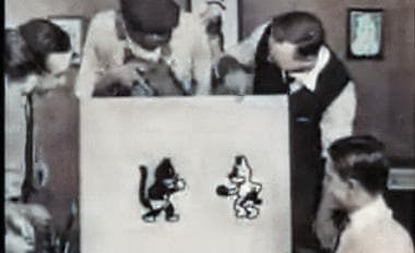 Alice's Wonderland, 1923 Walt Disney short silent film